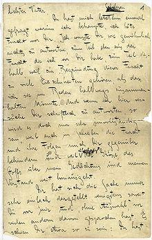 3. Kafkina pisma ocu