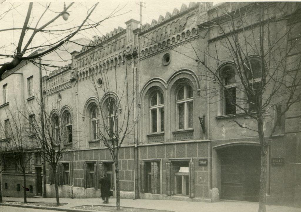 Dom saveza jevrejskih veroispovednih opština FNRJ,Beograd,Zmaj Jovina 34